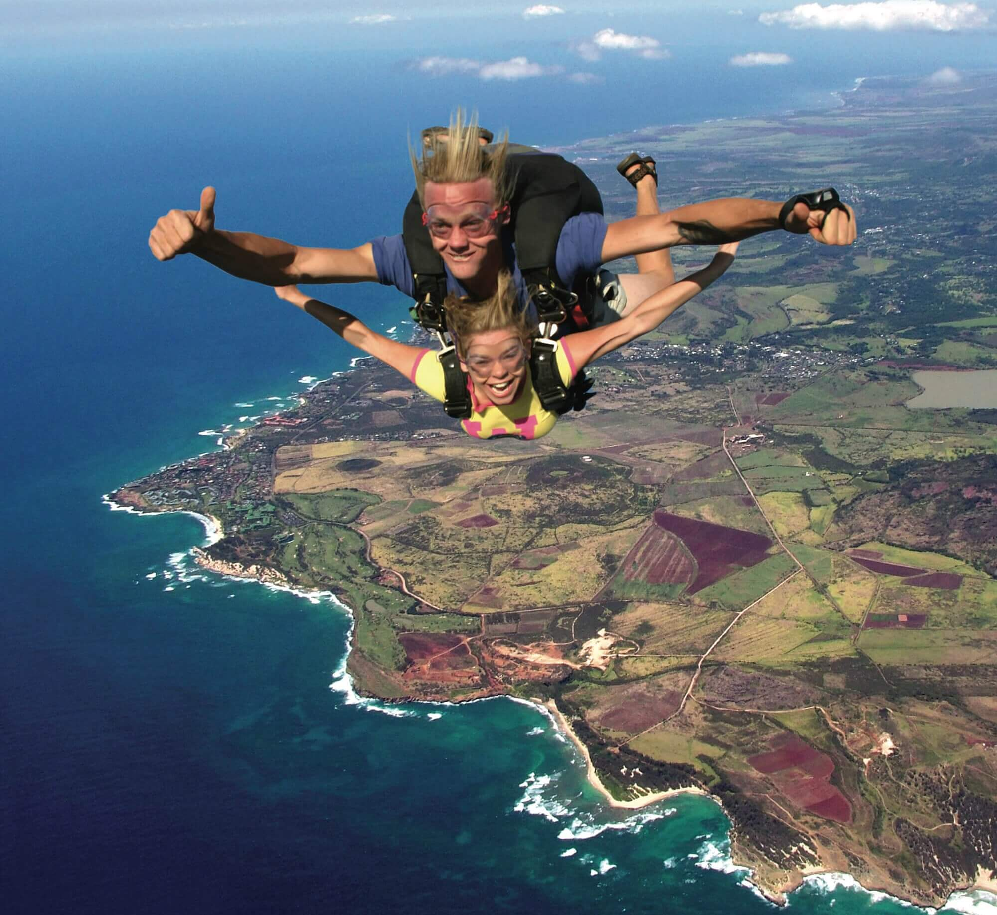 Skydive Over Kauai Island | Skydive Kauai | 3 Thrills For